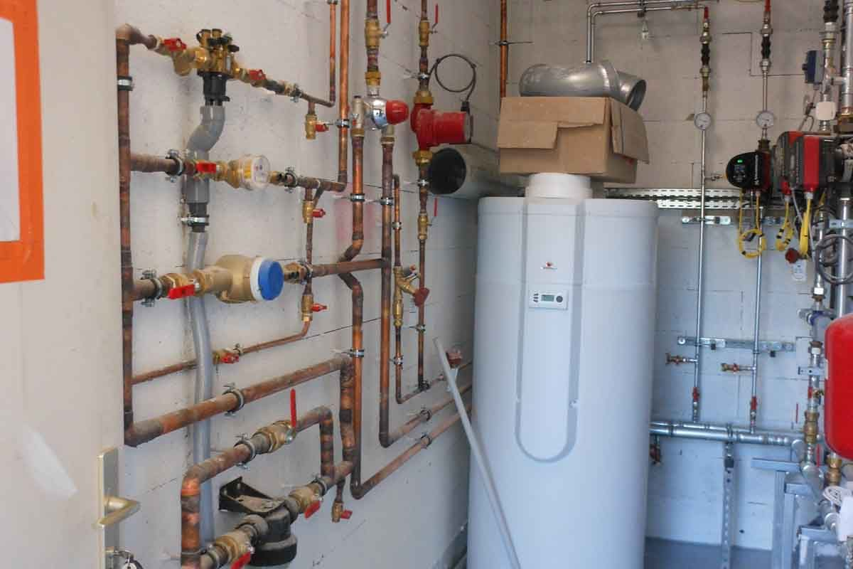 Tertiaire réalisations de rénovation installation climatique | LENAUD